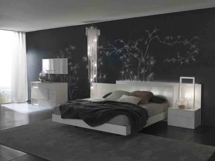 115 best Decoracin paredes images on Pinterest Black Bedrooms