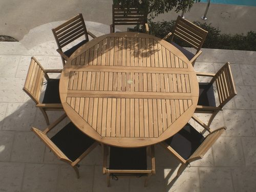 round patio table for 8
