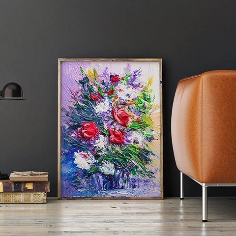 Bouquet Acrylic Painting.  Code: P000077 Phone: +628118439998 (WA/SMS) Email: sales@canvasdeco.com Website: www.canvasdeco.com Price: Ask by request. . #canvasprinting #canvaspainting #cetakkanvas #cetakkanvas #cetakkanvasjakarta #cetakkanvasphoto #cetakkanvasmurah #lukisan #kanvasprint #canvascustom #hiasandinding #dekorasidinding #walldeco #spanram  #canvasframe#kanvas #canvasposter #printcanvas #walldecoration #vintageposter #canvaspaintings #posterkanvas #printkanvasmurah #walldecor…
