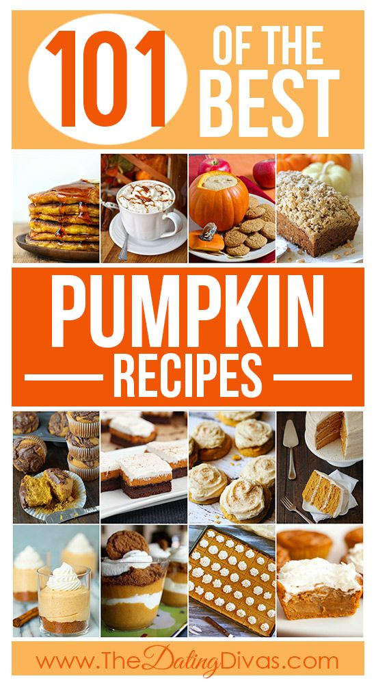 JACKPOT! A delicious collection of the BEST pumpkin recipes! Everything from drinks to dips to desserts.