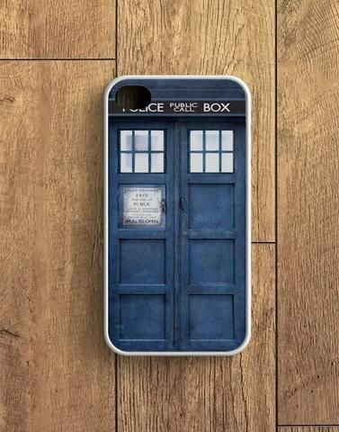 Police Box Tardis Doctor Who iPhone 4 | 4S Case