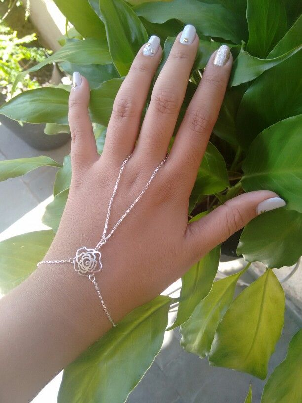 Slave silver plated  bracelet