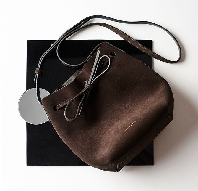 Mini Bucket Bag by Mansur Gavriel