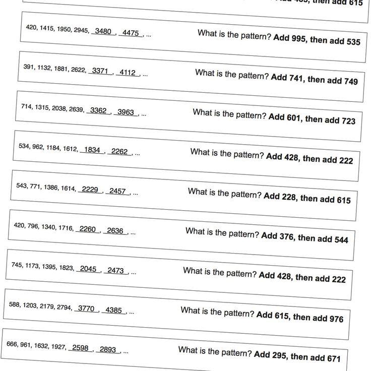 English For 1st Graders Worksheets  Beste Ideer Om Number Patterns Worksheets P Pinterest Volume Of Cylinder Worksheet Pdf with Boy Scout Merit Badge Worksheet Word Number Pattern Worksheets Patterns With Large Numbers Great Practice  For Standardized Test Free Printable Sequencing Worksheets For Kindergarten Pdf