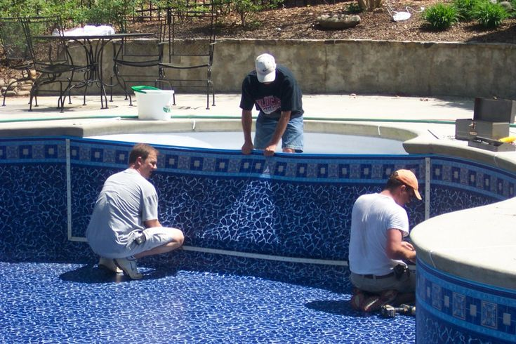 We enjoyed and used our vinyl inground swimming pool for 10 years, repairing tears along the way. Finally, one hot August day our pool liner developed a three foot tear just above the water line. Not to be discouraged, we still tried to delay the...
