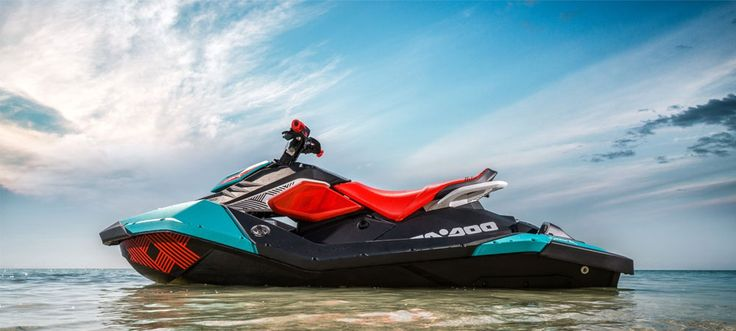 Hit speeds of up to 80km/h with the awesome Sea-Doo Spark Trixx Jet Ski