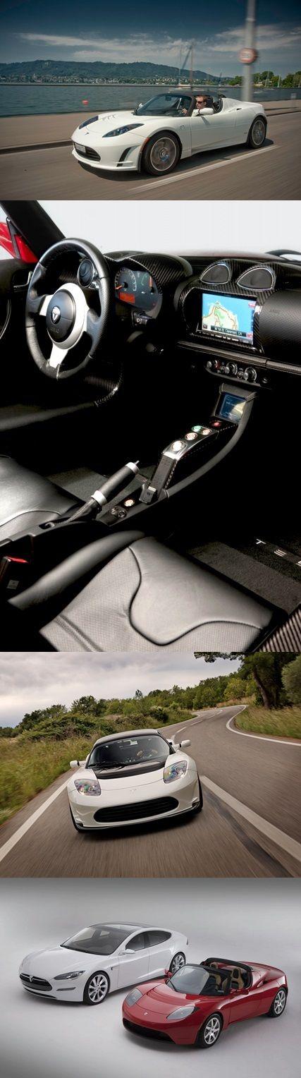 Tesla Roadster, llega el deportivo eléctrico
