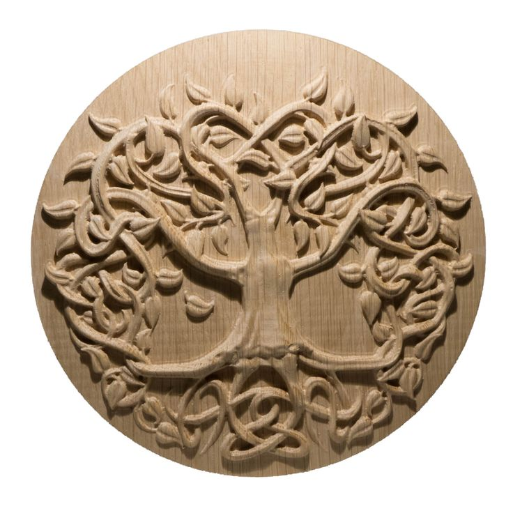 Tree with leaves by 3DMandala on Etsy
