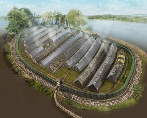 Biskupin Settlement, Poland
