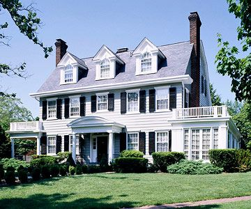 Colonial Style This Residential Style Is Considered One Of The Most Popular  In The History Of