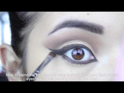 Maquillaje glamoroso para fiestas - YouTube
