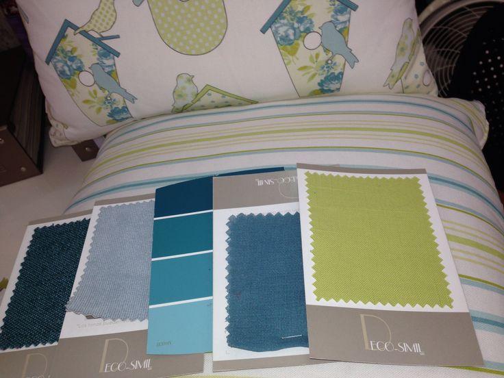 Paleta de colores para el cuarto de mis hijas