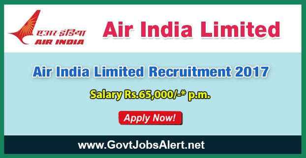 AIL Recruitment 2017 - Hiring Medical Doctors Posts, Salary Rs.65,000/- : Apply Now !!!  The Air India Limited – AIL Recruitment 2017 has released an official employment notification inviting interested and eligible candidates to apply for the positions of Medical Doctors. The eligible candidates may apply to the posts in the prescribed format available in official website (given below). The Closing date for apply of AIL Recruitment 2017 is on or before December 15, 2017.