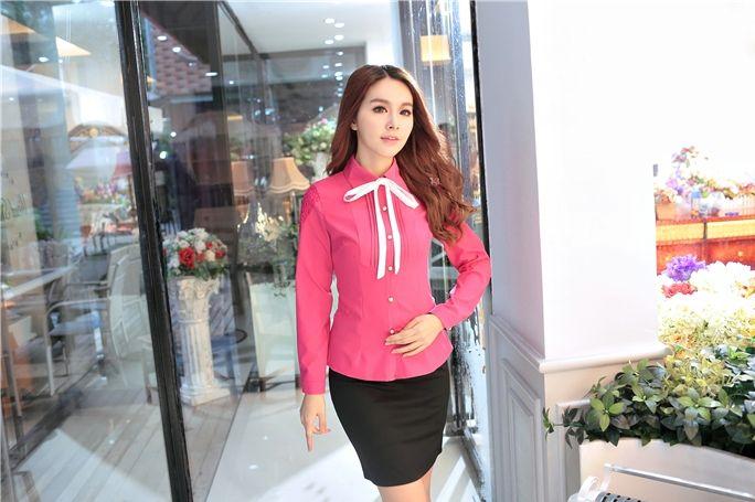 Blouse Import Pink BL2960