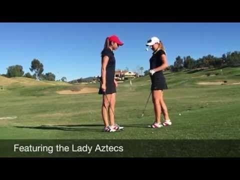 SDSU Women's Golf Team Trick Shot Video |  - - http://www.sportsoutdoor.org/videos/sdsu-womens-golf-team-trick-shot-video/