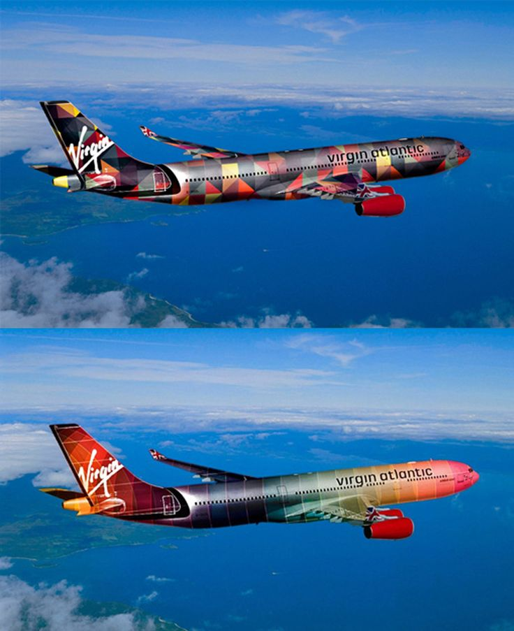 Virgin Atlantic Plane Design by Access