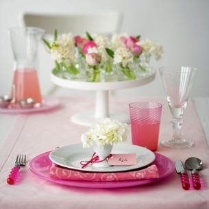 Pretty and pink............