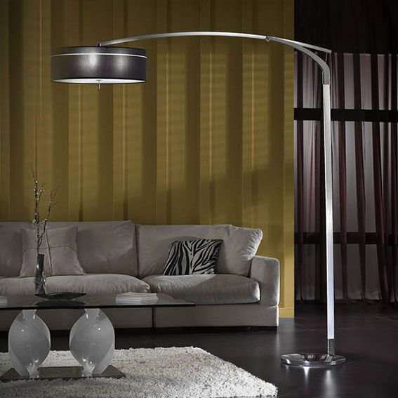 Lámparas de pie : Lámpara de Pie articulada con Pantalla en Arco