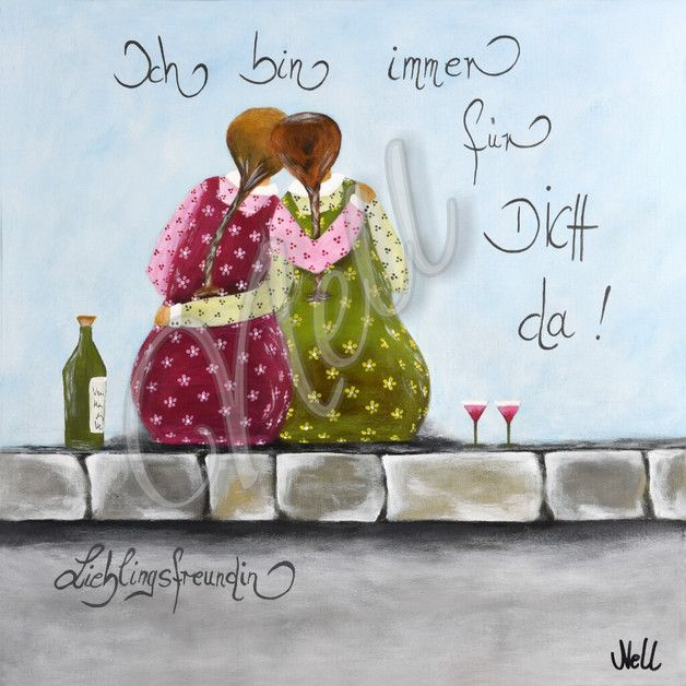 Postkarte! Eigenes gemaltes Motiv! – Anja Melles