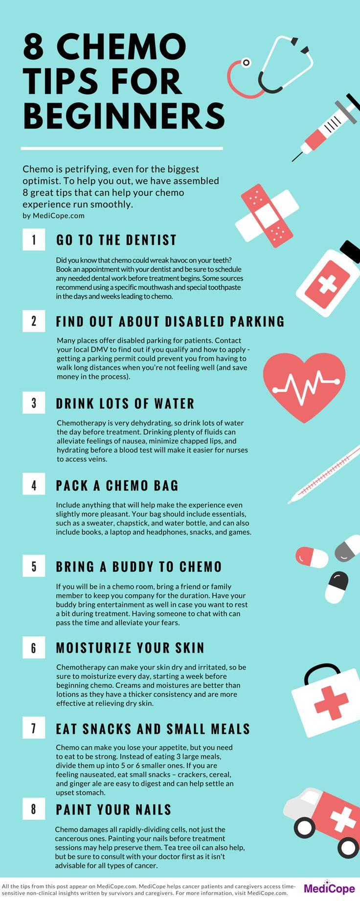 8 Chemo Tips for Beginners - Medicope.com