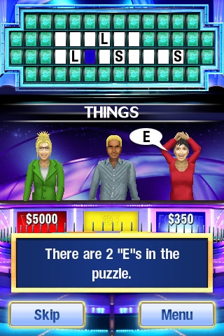 Wheel of Fortune Platinum iPhone and iPad app by Sony