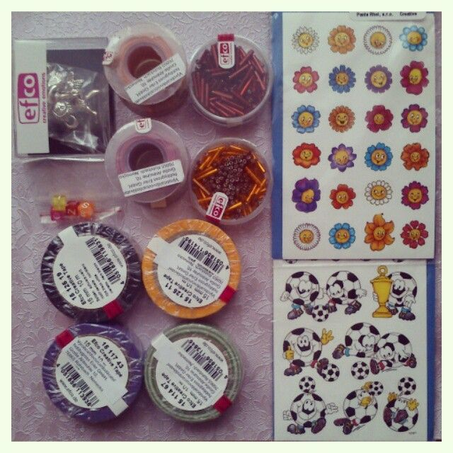 washi tapes and stickers