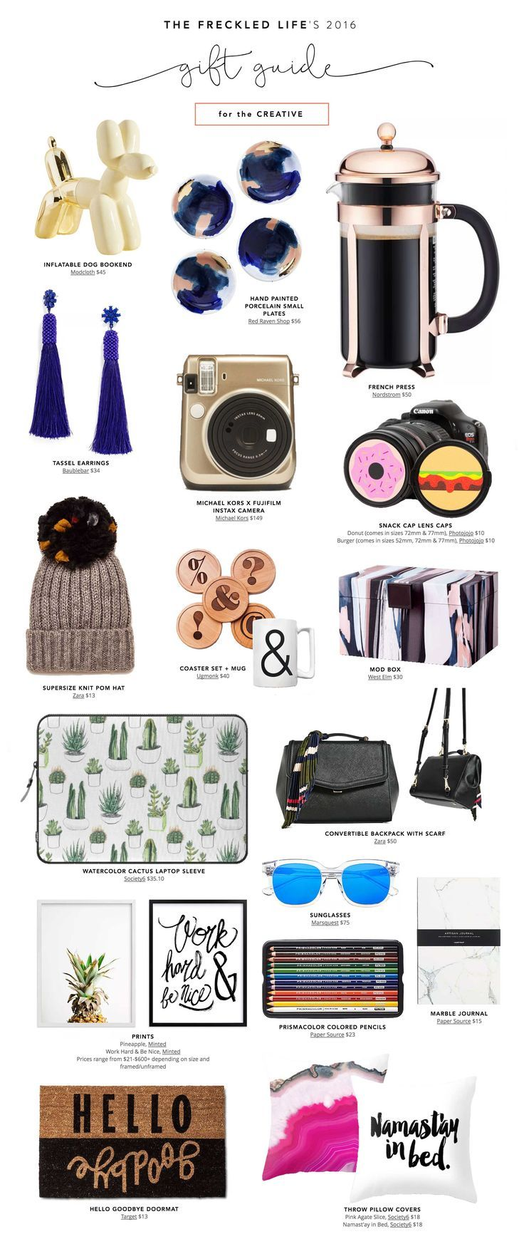 Budget Friendly Holiday Gifts For The Creative Holiday