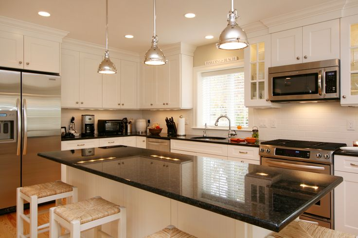 Custom kitchen, new home in Chatham, MA by REEF, Cape Cod ...