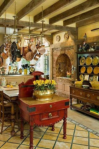 italian country kitchen decor 66 best images about pot racks on pot racks 4863