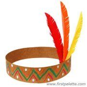 native american headband craft