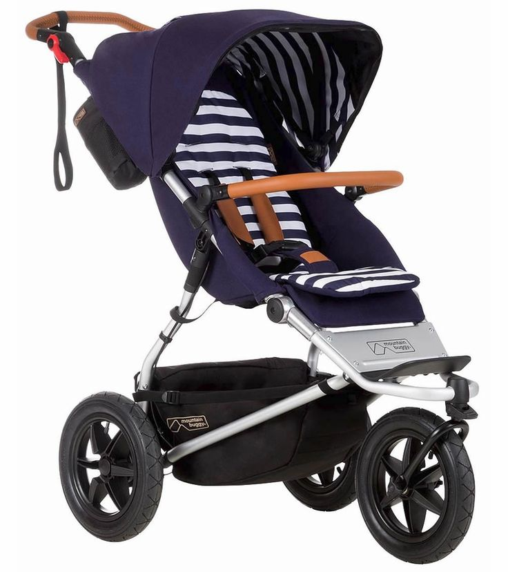 Mountain Buggy Urban Jungle Luxury Collection Stroller - Nautical