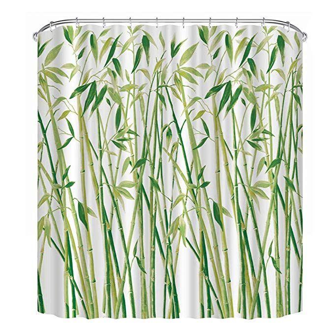 Lecoda Shower Curtain European Style Waterproof Bath Curtain