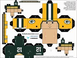 Aaron Rodgers Packers Cubee by etchings13