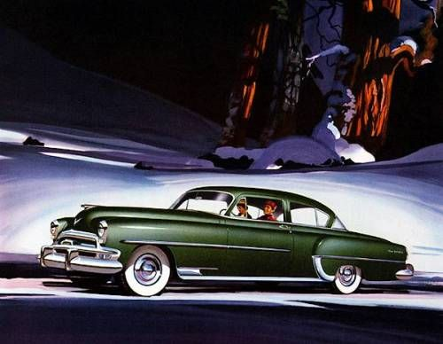 """specialcar: """"1954 Chrysler New Yorker Club Coupe """""""
