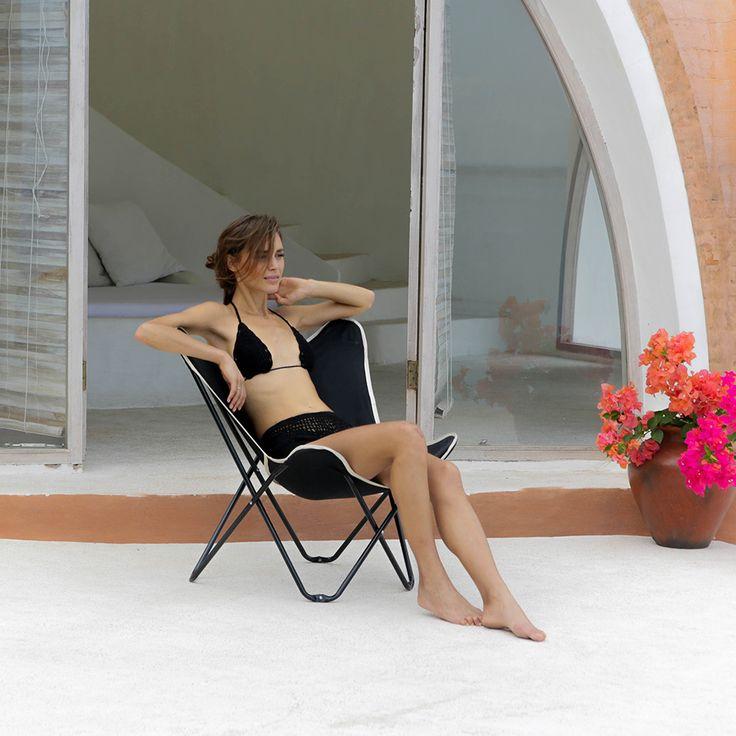 Santa Cruz Butterfly Beach Chair $79
