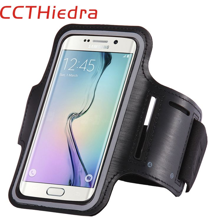 CCTHiedra Sports Armband Waterproof Case For Samsung Galaxy S6 S7 For Xiaomi Redmi 3s Huawei Sony Xperia Lenovo 4.0-5.1inch