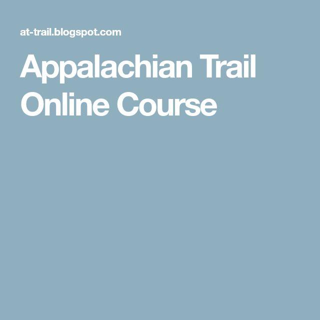 Appalachian Trail Online Course