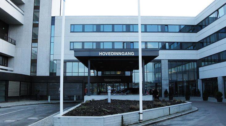 Intrarea principala in Spitalul Universitar Stavanger Foto: www.dagbladet.no