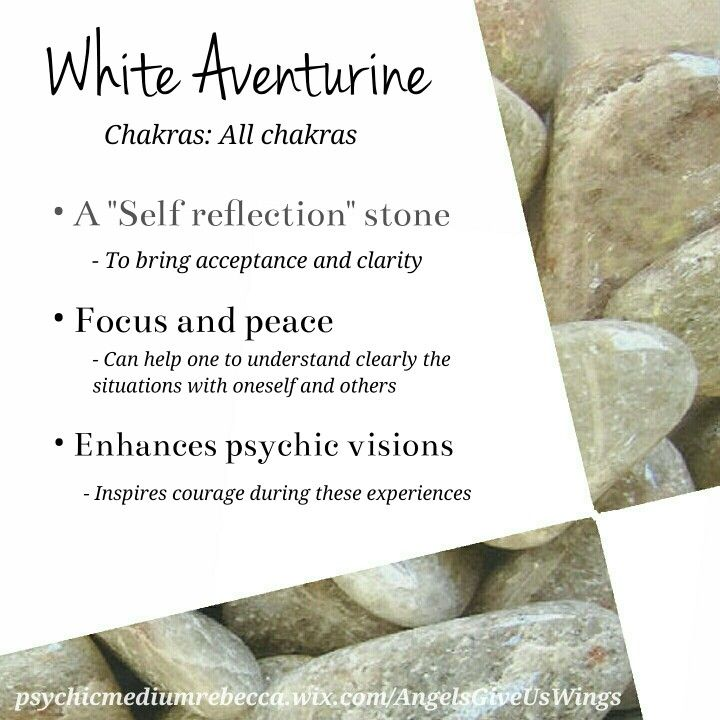 White aventurine crystal meaning