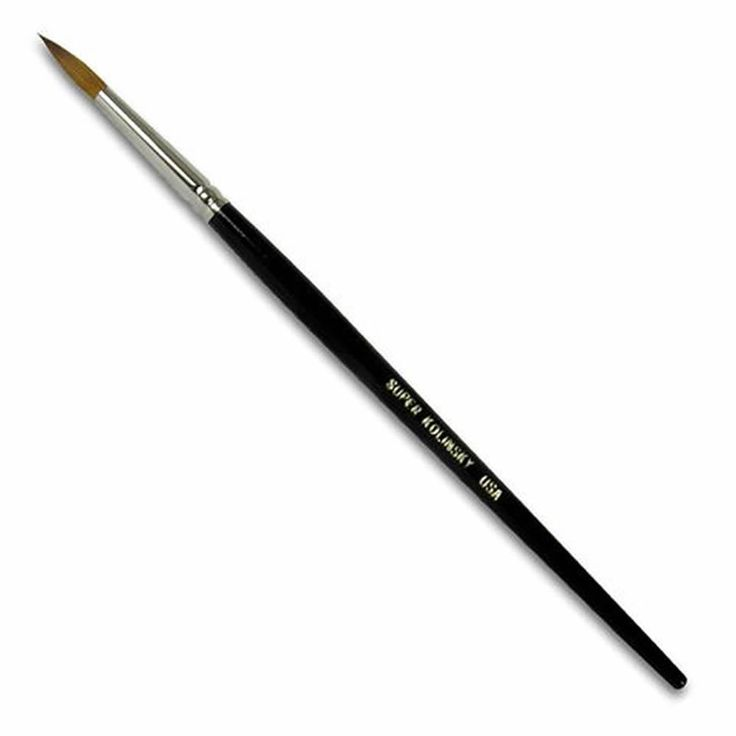 Super Kolinsky Acrylic Brush | Acrylic Nail Supplies | Beauty Express