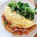 Plněná omeleta