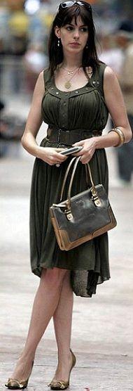 The Devil Wears Prada outfits. I loooooove the montage of amazing fashion.