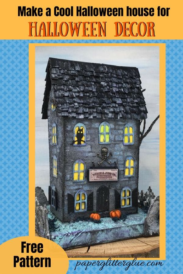 Apothecary Halloween House – Weber and Judd's Potions Shop