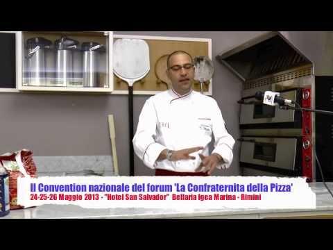 ▶ La confraternita della Pizza Part.I - Spiegazione Impasto Napoletano STG - Salvatore di Matteo - YouTube