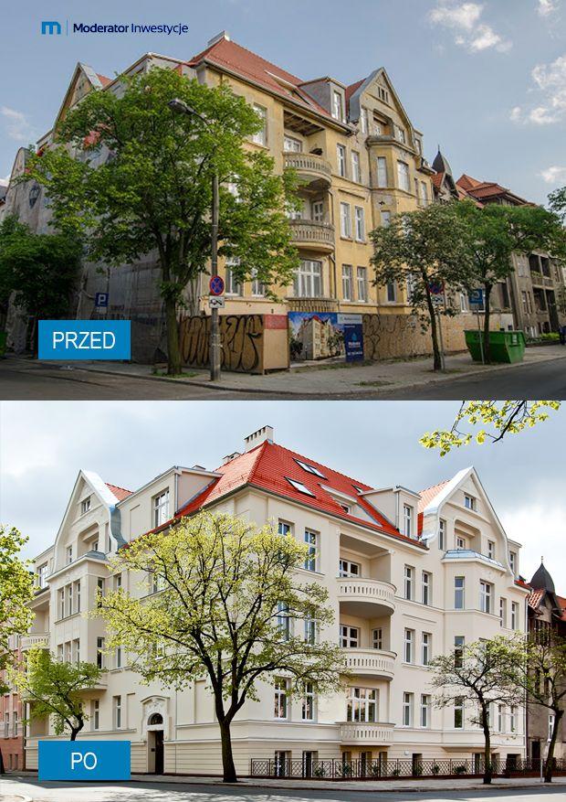 #Kamienica na ul. Zamoyskiego 4, Bydgoszcz po generalnym remoncie #dewelopera Moderator Inwestycje