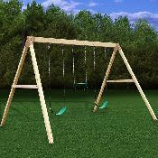 DIY Kit for 3 seater swing set.