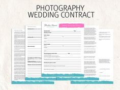 25+ best Photography contract ideas on Pinterest | Free ...