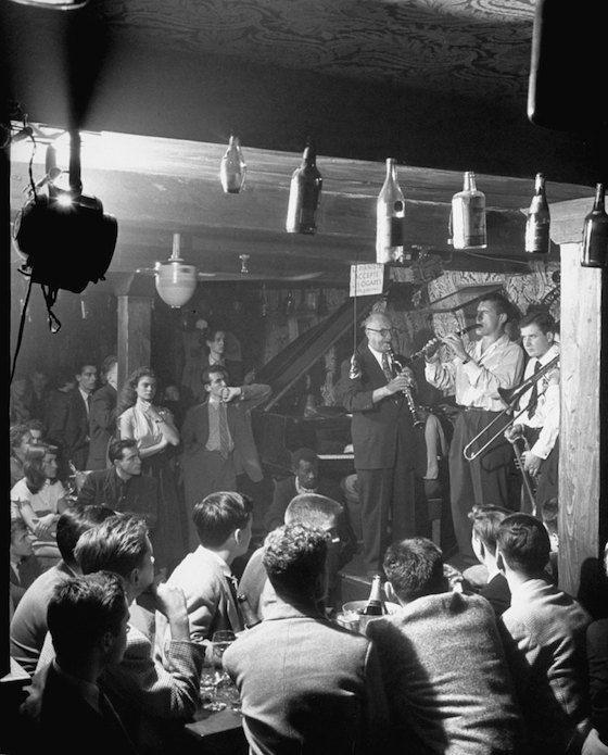 Gordon Parks americans students in Paris 1952 #jazz
