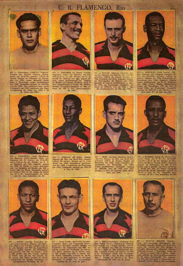 Idolos do Futebol Brasileiro 1956