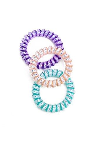 Holographic Spiral Hair Ties  0c9091a8806